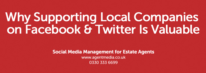 Why Supporting Local Companies on Facebook & Twitter Is Valuable